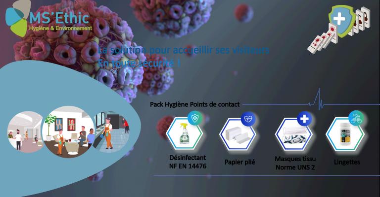 Pack Hygiène Points de Contact
